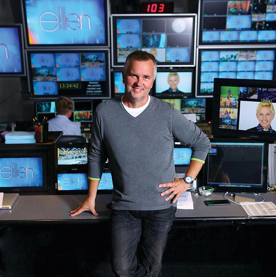 "Rowan names Ed Glavin '85, executive producer of ""Ellen,"" distinguished alumnus"