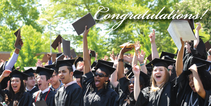 Congrats to the Class of 2015!
