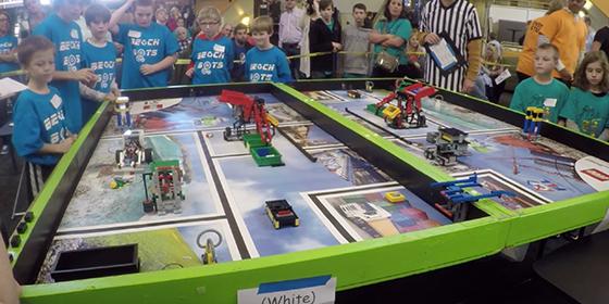 Rowan University - FIRST Lego League at Rowan